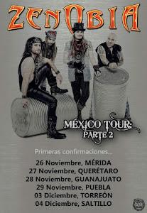 ZENOBIA MÉXICO TOUR: PORTE 2