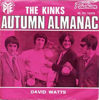 La Canción de la Semana, The Kinks, Autumn Almanac