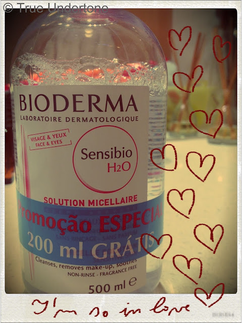 Fotografia da àgua micelar Sensibio H2O da Bioderma