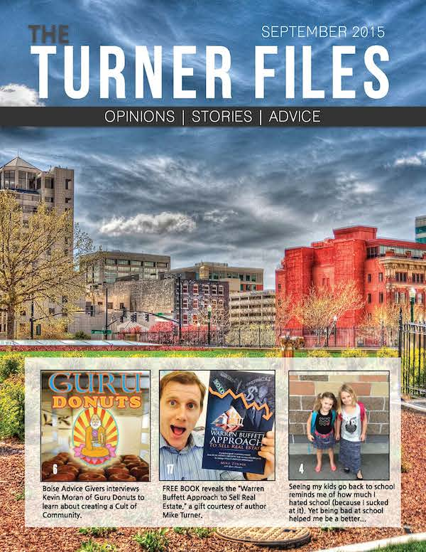 Subscribe To My Newsletter: The Turner Files