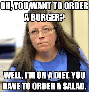 No burger for you.