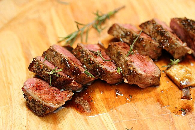 ... Kitchen: Rosemary Garlic Butter Steak + Tips for Cooking a Great Steak