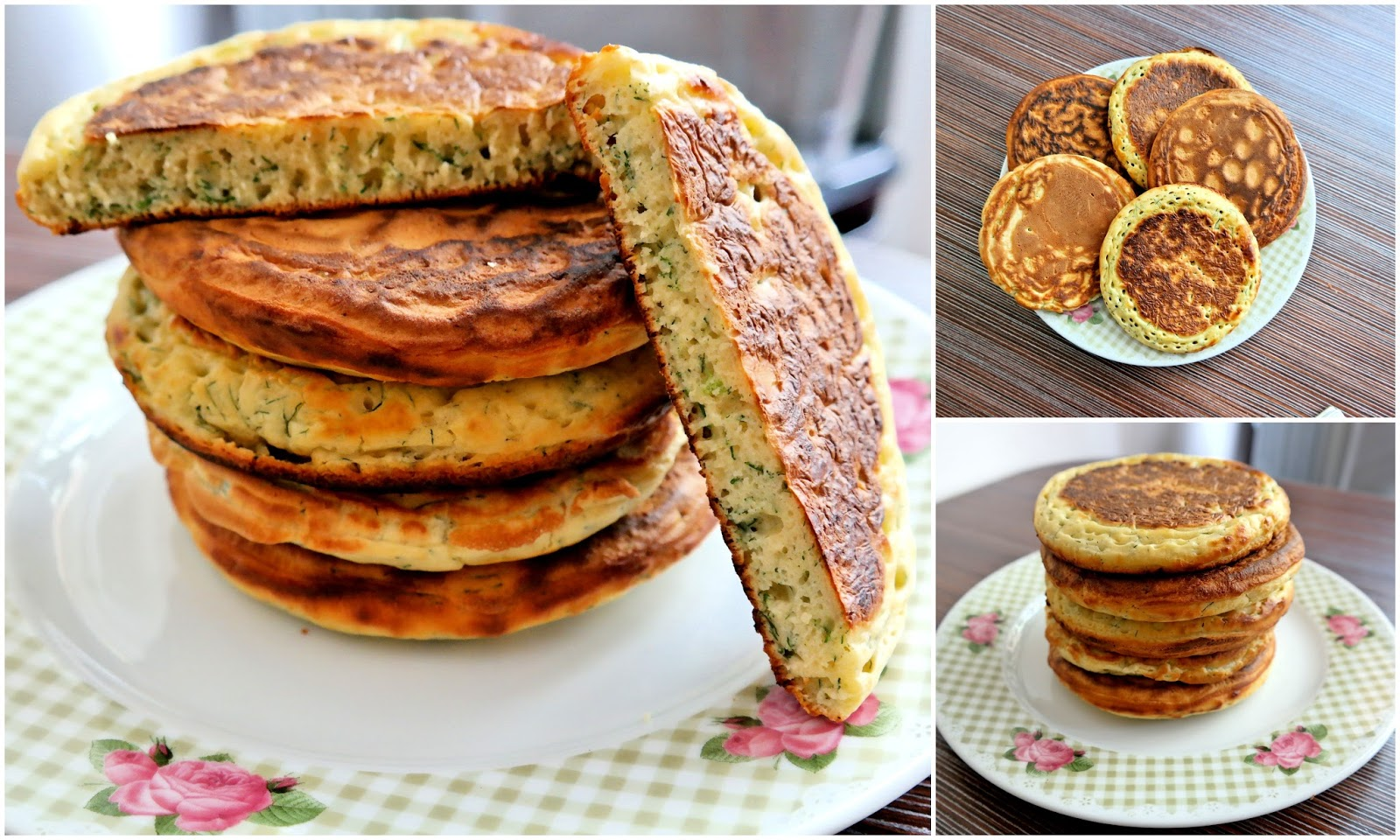 Tuzlu Pankek ve Pazar Kahvaltısı