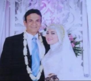Foto Pernikahan Mark Sungkar dengan Santi Asoka Mala