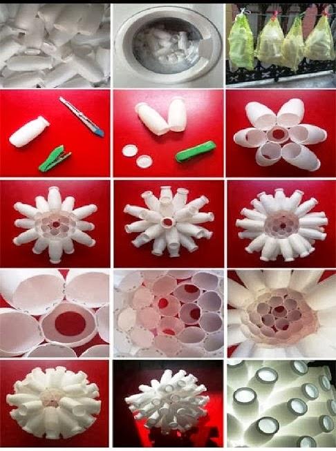 diy une suspension design en pot de yaourt initiales gg. Black Bedroom Furniture Sets. Home Design Ideas