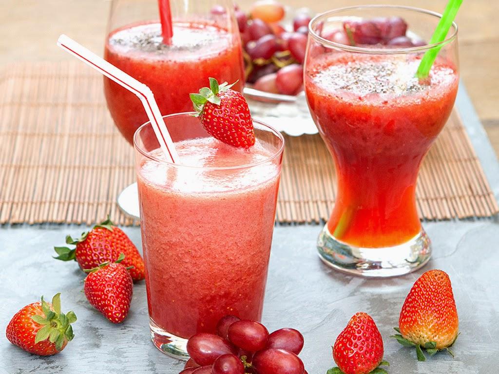 Shake de frutas vermelhas light