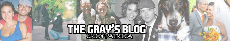 Eric and Patricia Gray's Blog