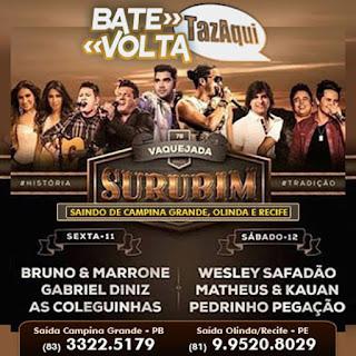 BATE VOLTA - VAQUEJADA DE SURUBIM 2015