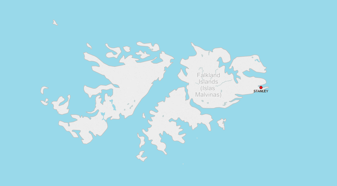 PORTS IN FALKLAND ISLANDS