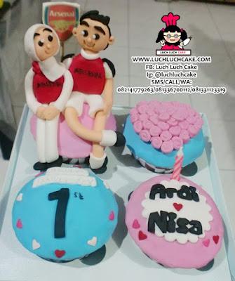 Cupcake Arsenal Daerah Surabaya - Sidoarjo