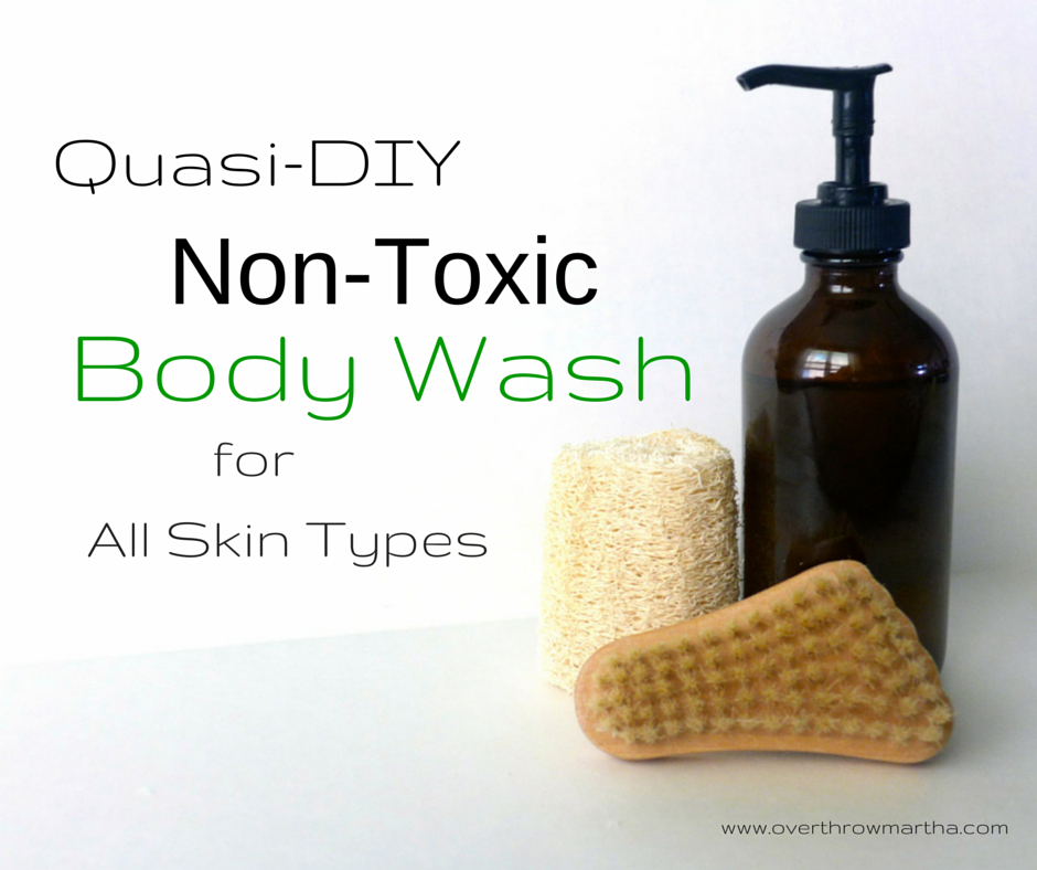 Easy DIY body wash for all skin types