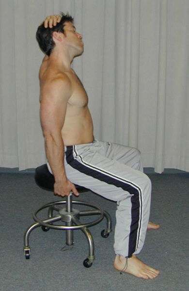 Scalene Stretch With Towel Right scalene stretch (wvsom)