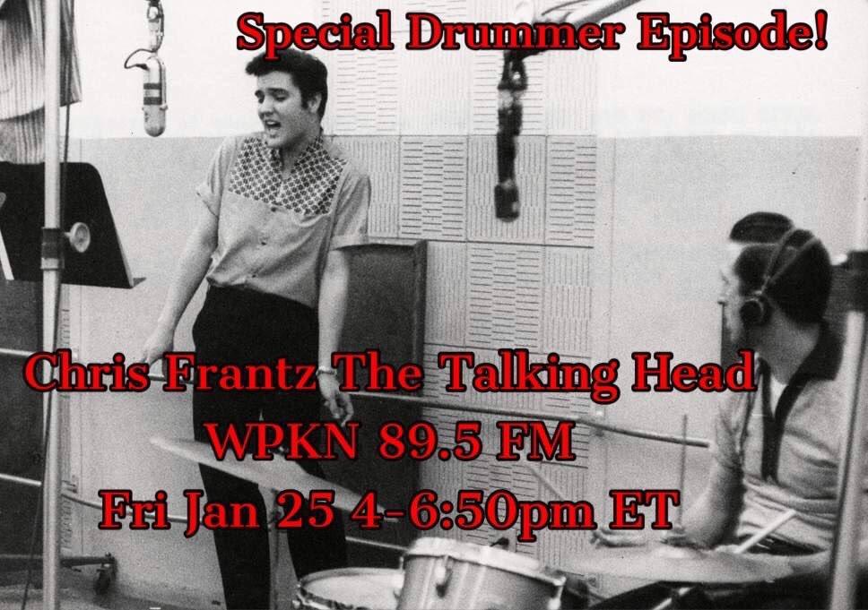 Chris Frantz The Talking Head Radio Show Jan.25, 2019 | LISTEN ON DEMAND