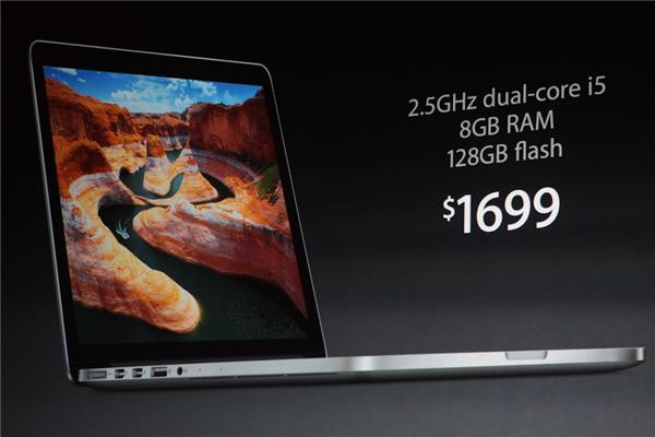 the new Macbook Pro specifications and price