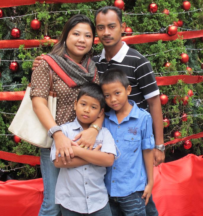 NORYN + JASNI + ALIFF + IRFAN = MY FAMILY