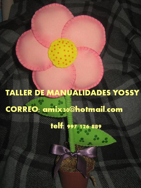 Mi Taller Para Regalar A Mama En Este Dia Tan Especial Flor En Maceta
