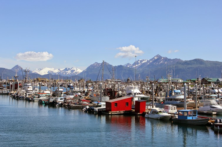 Homer, Alaska harbour