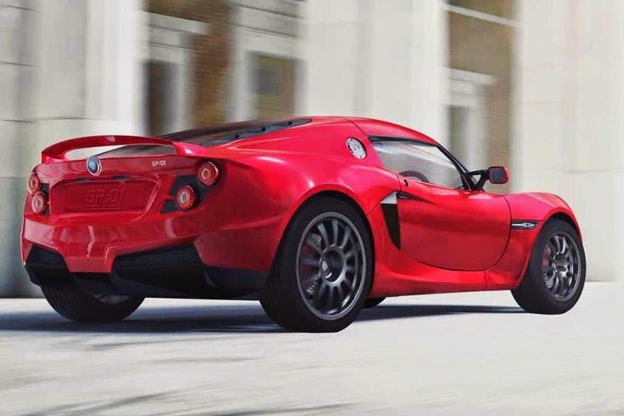Detroit Electric SP:01 (2015) Rear Side