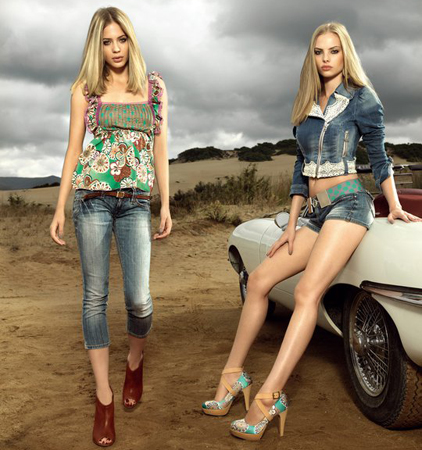 short y jeans Fornarina