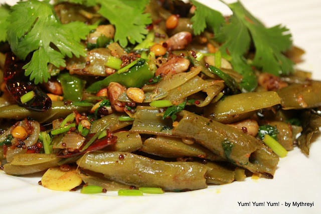 Indian Broad Beans Stir Fry