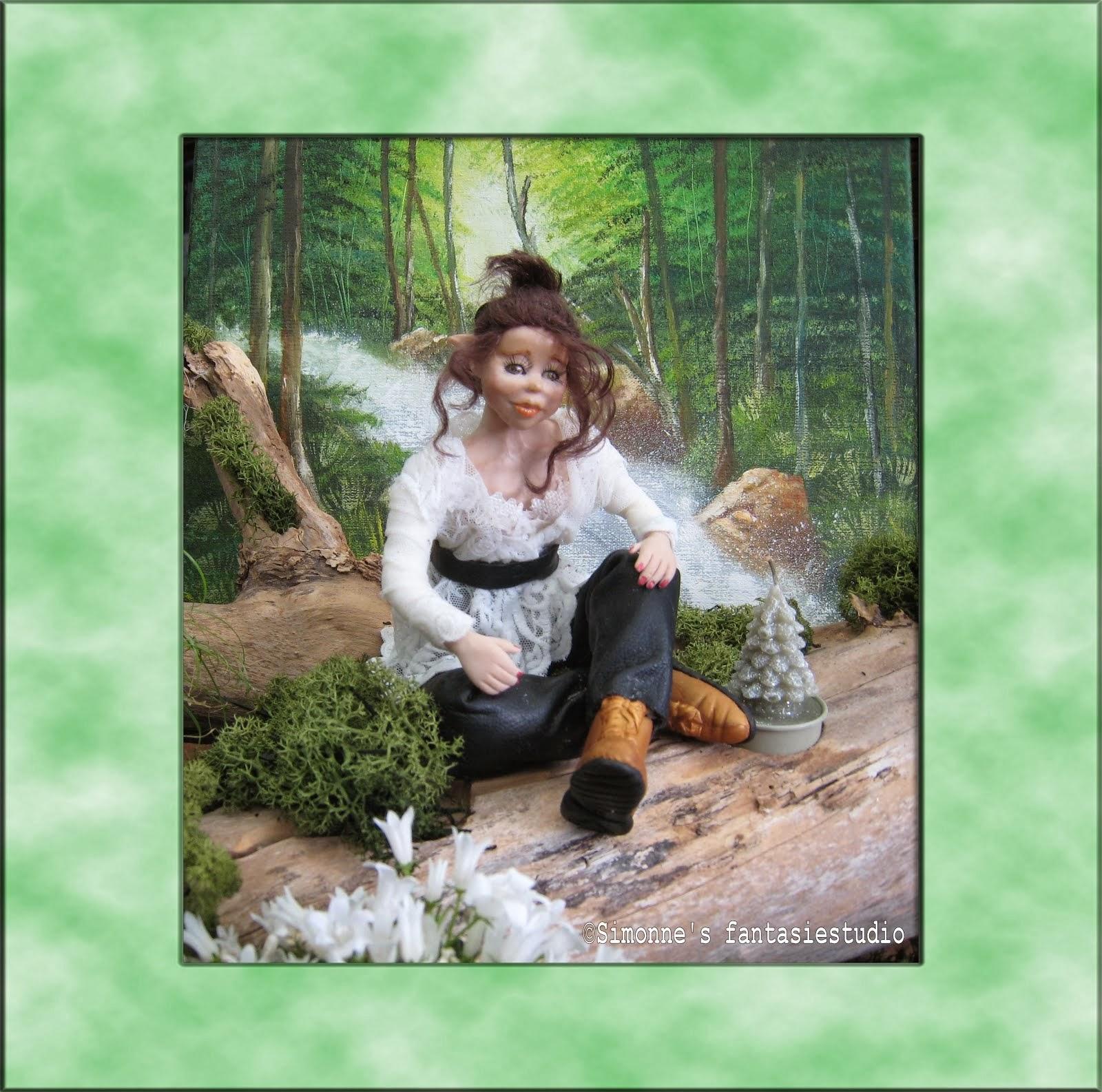 mijn elfje in het bos