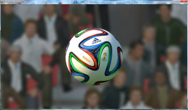 PES 2014 Brazuca Real High Quality Ball by danyy77