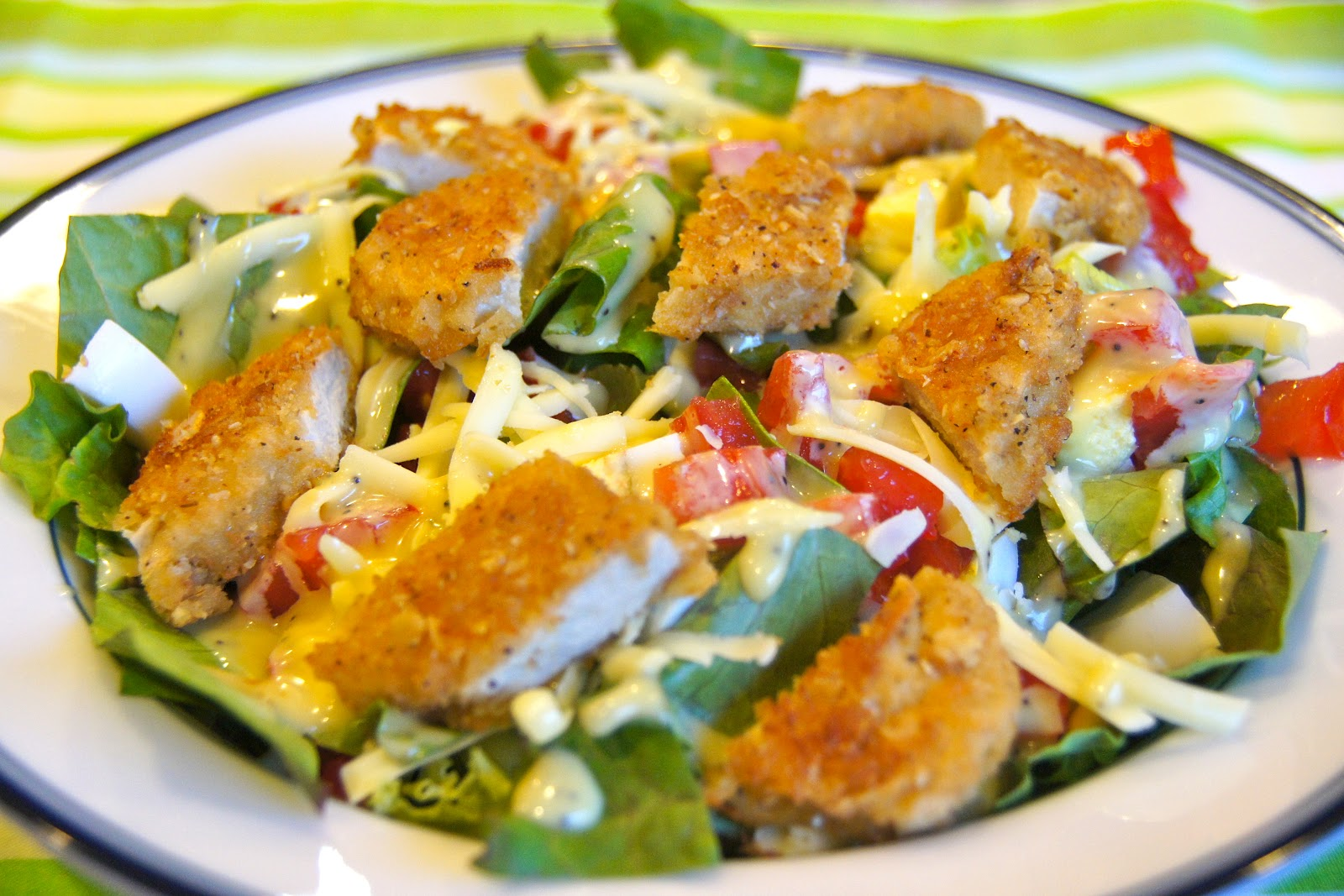 Family food finds red robin style chicken tender salad red robin style chicken tender salad forumfinder Choice Image
