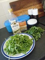 Parmesan Pesto in Tupperware Salad To Go
