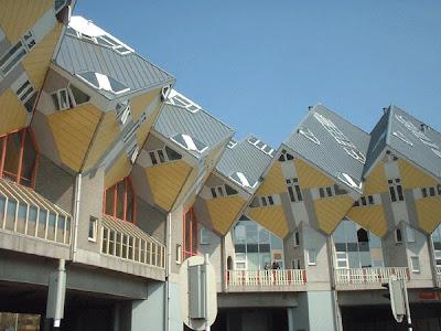 Cubic Houses Rotterdam Holanda Netherlands