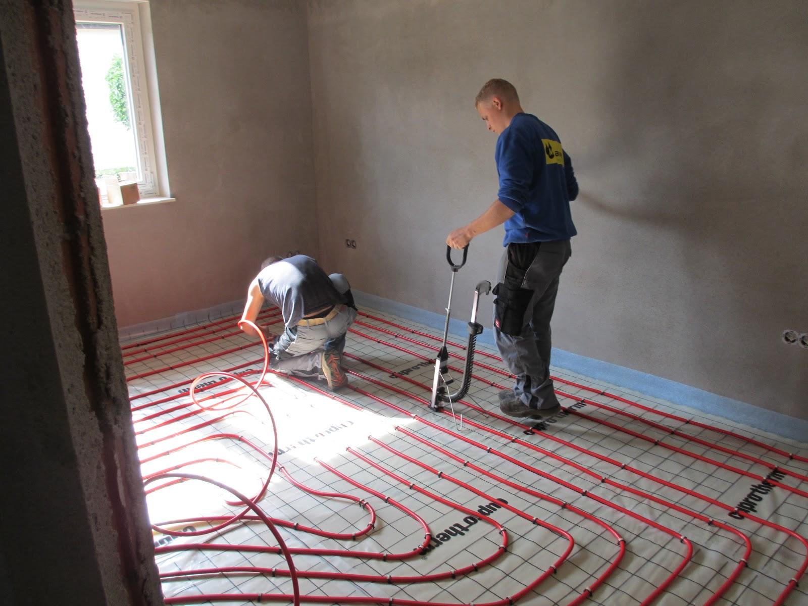 Dämmung Fußboden Rohre ~ Fußbodenheizung sorgfältig verlegt? die alten bauen ihren ruhesitz!