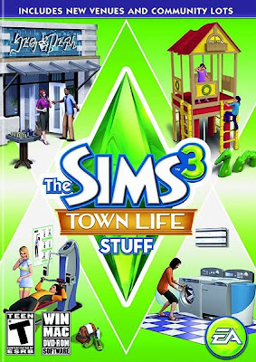 Download The.Sims.3.Town.Life.Stuff  EXPANSAO