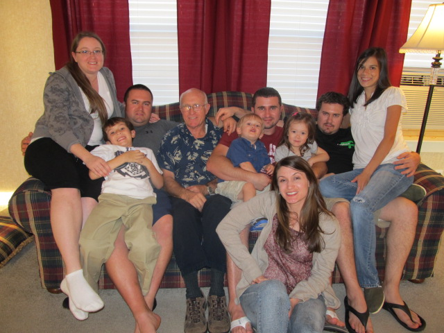 Little Rock and grandkids