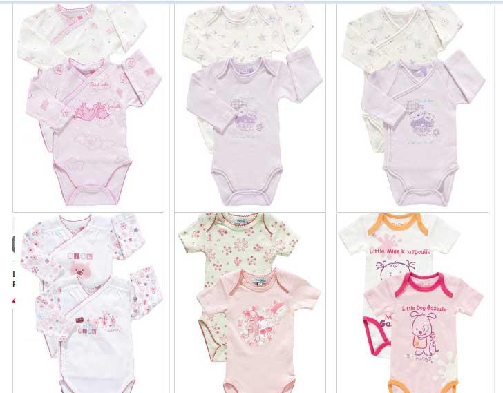 c13229898 bodys niña  Bodys para bebes niños con los mismos precios para los ...