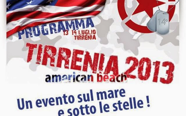 tirrenia 2013 american beach