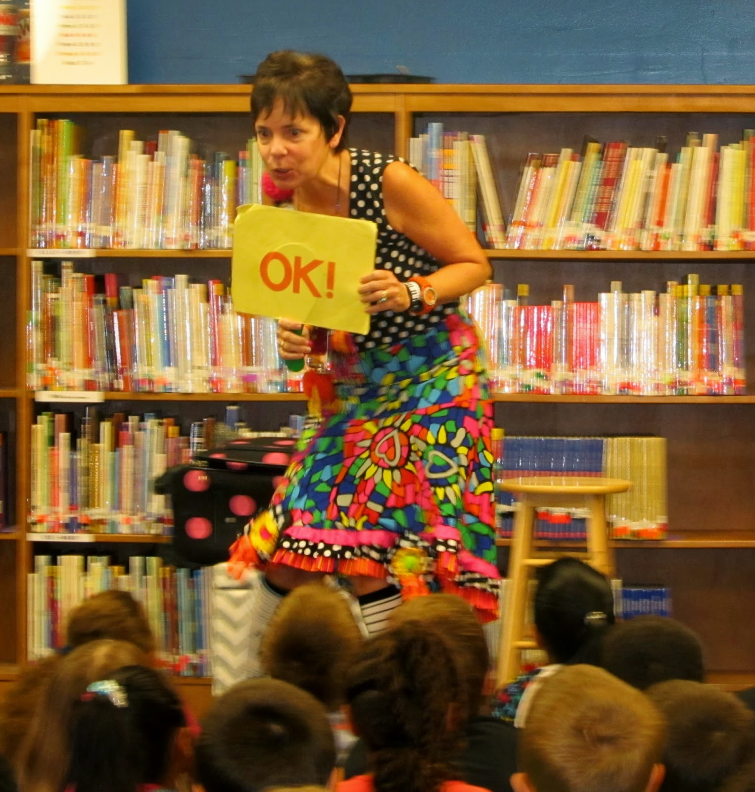 "Author-Illustrator School Visit: Debbie Clement goes to ""Primary Graffiti"""