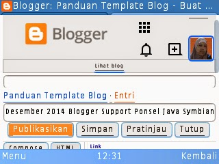 Desember 2014 Blogger Support Ponsel Java Symbian