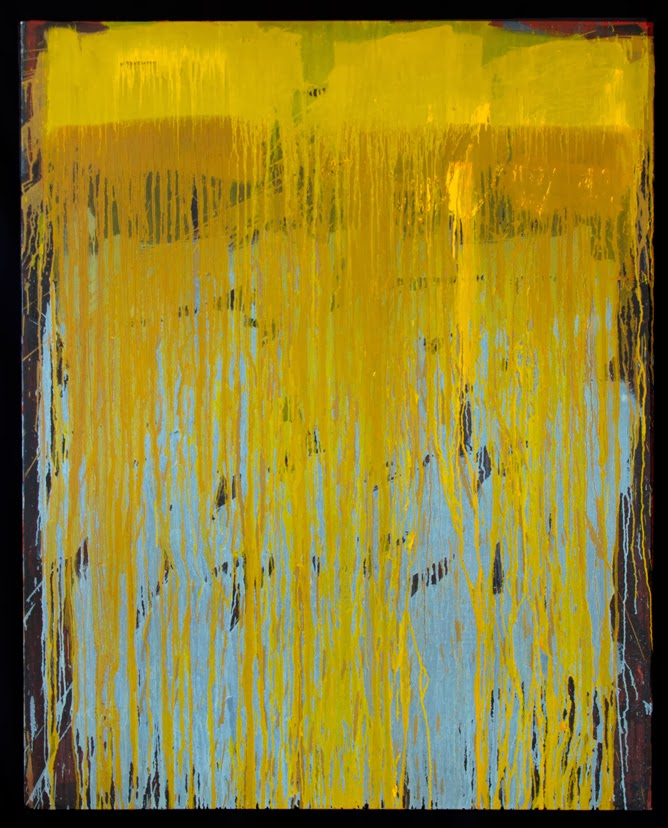 Artdeal Magazine: Peter Parks: Wall of Paint, Wall of Sound