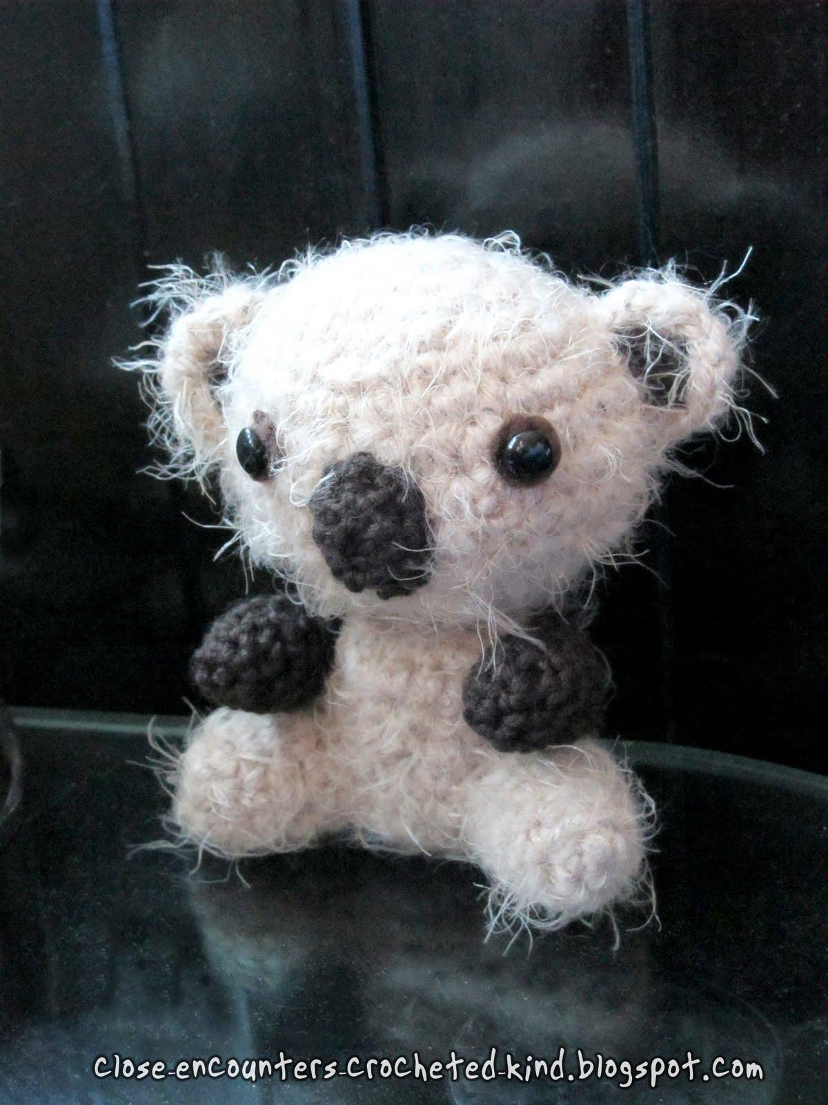 Koala Amigurumi Nose : Close Encounters: Crochet Creations by Danni Close: Fuzzy ...