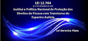 Lei 12.764/12, institui a Política Nacional dos Direitos da Pessoa com TEA.