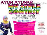 Ayun Ayunar my Style Contest..