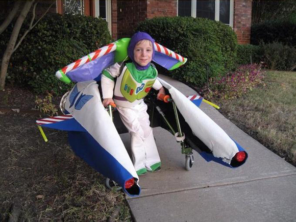 Buzz Light Year Wheelchair Art Car