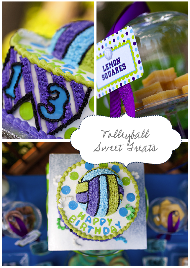 Volleyball Birthday Party Ideas Volleyball Party Cake Ideas