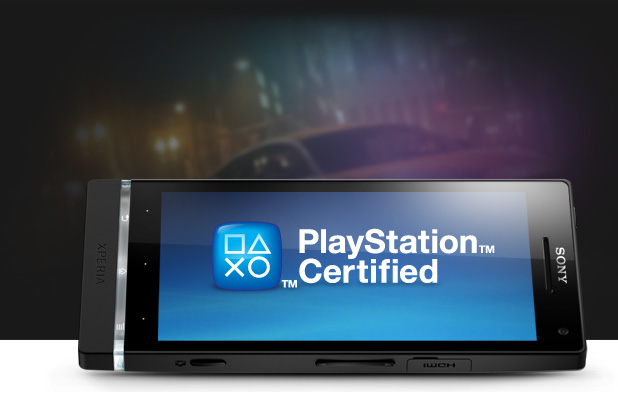 Playstation certified xperia s