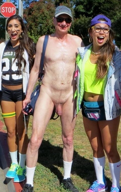 Nude Men At Bay To Breakers Cfnm