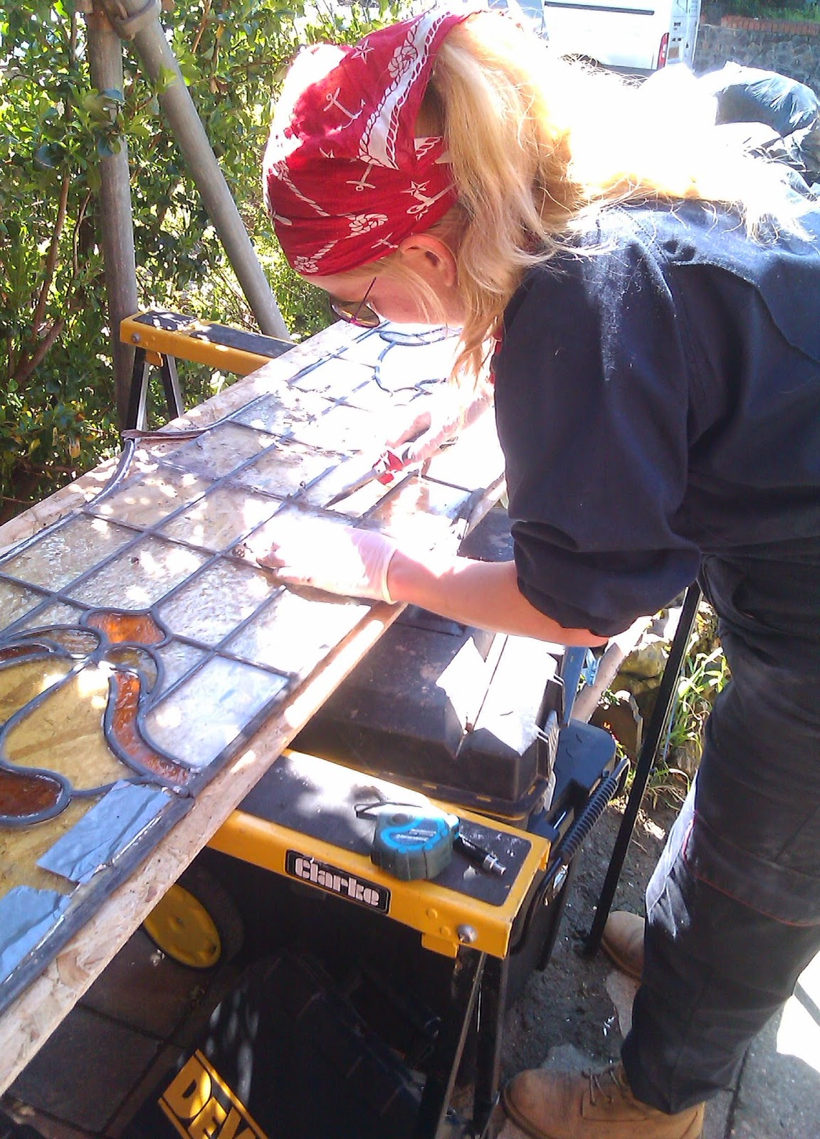 London stained glass restoration