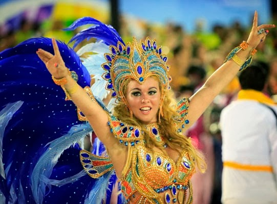 RIO DE JANEIRO, BRAZIL, Feb. 3. The Rio Carnival 2014 is one of the most important and surprising in the carnival scene in South America events.