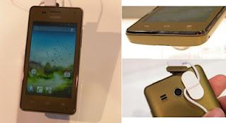Huawei Ascend G350, Android dengan kecepatan 1GHz