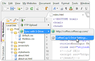 Coffee Cup Free html Editor for web designers and developers