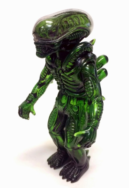 """Green Slime"" Alien Popy Vinyl Figure by Super7 & Secret Base"