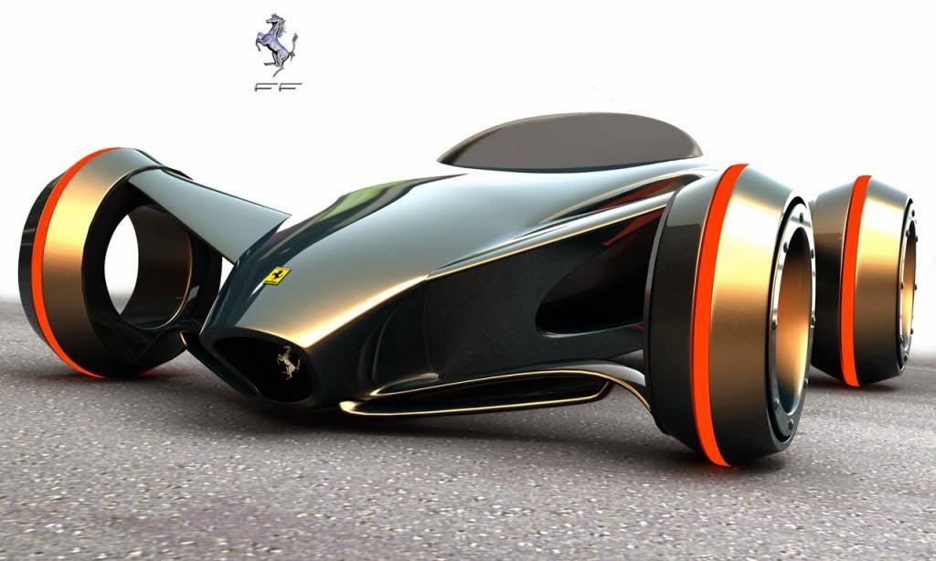 Bentuk mobil masa depan